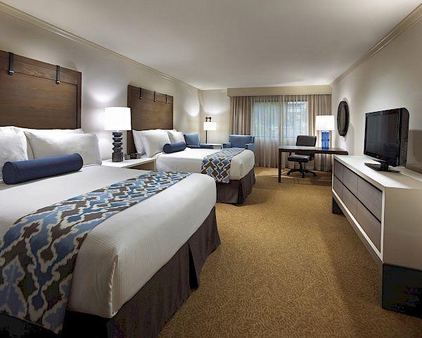 Executive two queen rooms